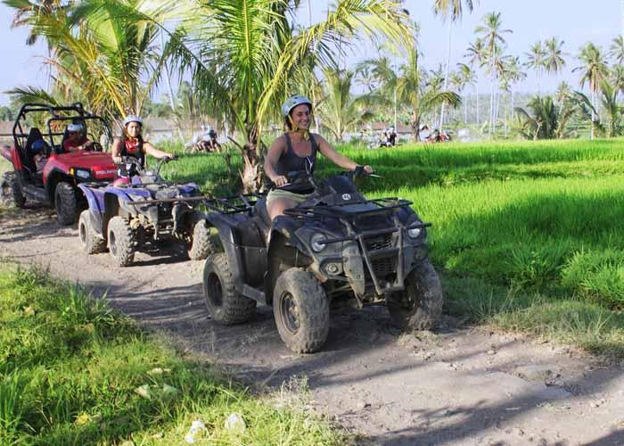 ATV ridding tour